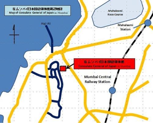 Consulate General Of Japan In Mumbai Contact Address - Japan visa map